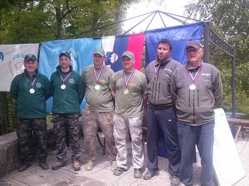 Zmagovalne ekipe 2. tekma Mola 2014