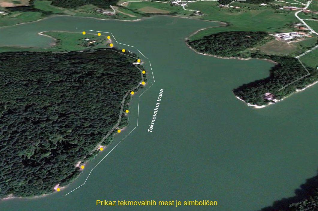 Trasa LKO Šmartinslo jezero