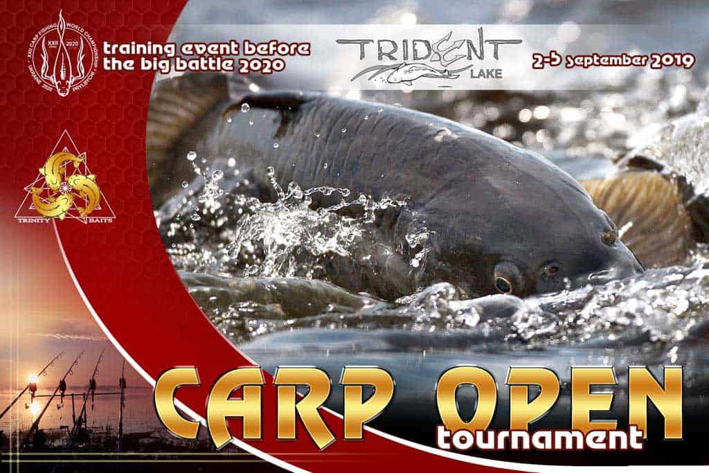 Carp Open Trident Lake 2019